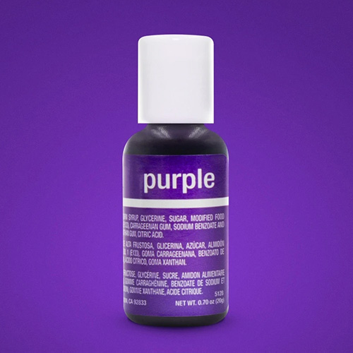 Chefmaster Liqua-Gel Purple 0.7oz