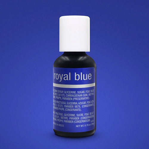 Chefmaster Liqua-Gel Royal Blue 0.7oz