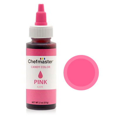 Chefmaster Pink Oil Based Candy Colour