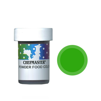 Chefmaster Powdered Food Colour Green