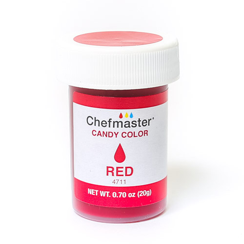 Chefmaster Red Oil Based Candy Colour 20ml