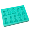 Chess Pieces Silicone Mould