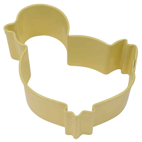 Chicklet Yellow Resin Cookie Cutter