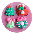 Christmas Decorations Silicone Mould