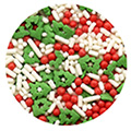 Sprinks Christmas Flurry Edible Sprinkles 75g