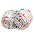 Christmas Gifts Grey Mini Baking Cups (#360) 240pcs