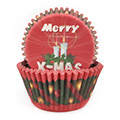 Christmas Red Baking Cups (#550) 240pcs