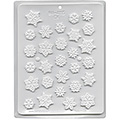 Christmas Snowflakes Hard Candy Mould
