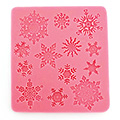 Christmas Snowflakes Silicone Mould