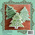 Christmas Tree Cookie Cutter & stencil Set