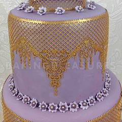 Claire Bowman Ophelia Cake Lace Mat