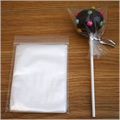 Small Cake Pop Cello Bags with Silver Ties 50pcs
