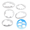 Cloud Cutters Set 5pcs