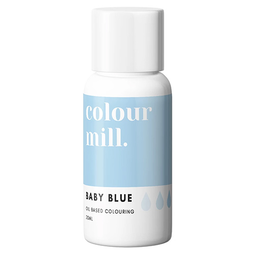 Colour Mill Oil Based Colouring Baby Blue 20ml