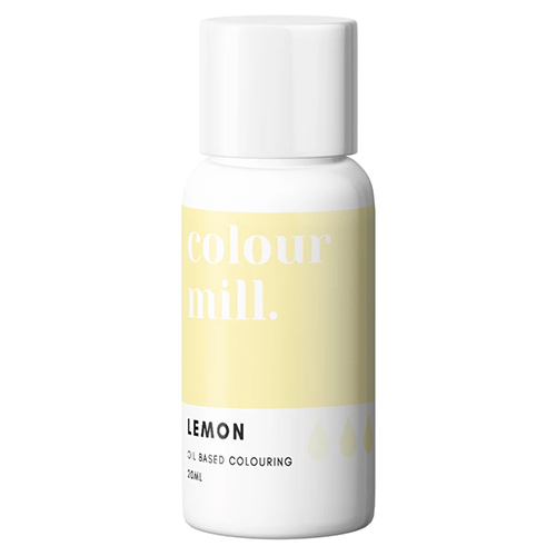 Colour Mill Oil Based Colouring Lemon 20ml