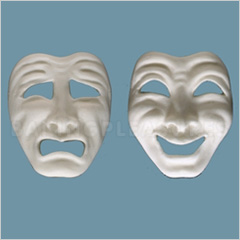 Fpc Sugarcraft Comedy Amp Tragedy Mask Silicone Mould