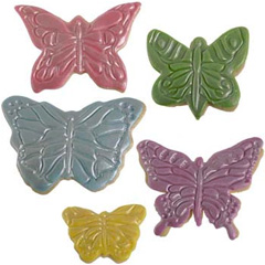 Cookie Texture Sets Butterfly