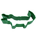 Crocodile/Alligator Green Cookie Cutter