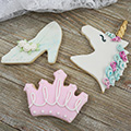 Crown Pink Cookie Cutter
