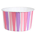 Culpitt Pink Stripe Baking Cups 24pcs