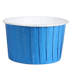 Culpitt Primary Blue Baking Cups