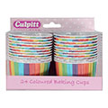 Culpitt Baking Cups Rainbow 24pcs
