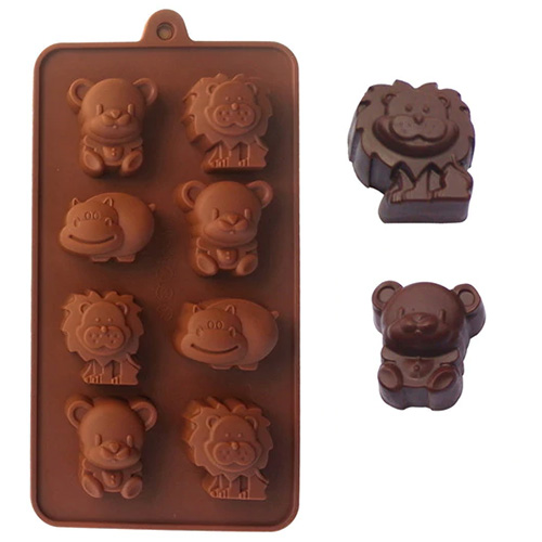 Cute Animals Silicone Chocolate Mould