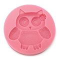 Cute Owl Silicone Mould