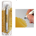 Rainbow Dust Dark Gold Edible Food Pen