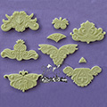Alphabet Moulds Design Elements 2 Silicone Mould