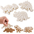 Large Dinosaur Cutter Set 3pcs