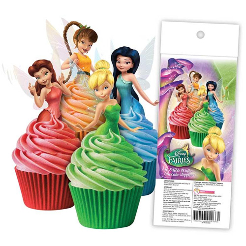 Disney Fairies Edible Wafer Cupcake Toppers