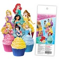 Disney Princess Edible Wafer Cupcake Toppers 16pcs