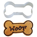 Dog Bone Brown Cookie Cutter