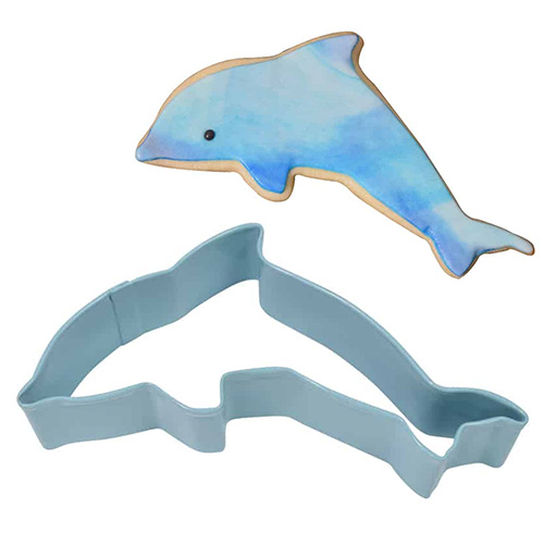 Dolphin Blue Cookie Cutter