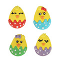 Easter Baby Chicks Edible Cupcake Toppers 12pcs