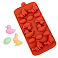 Easter Egg, Chick, Bunny Silicone Chocolate Mould