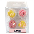 Easter Egg Cupcake Toppers 12pcs
