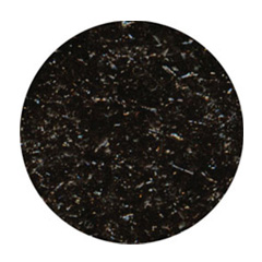 Edible Glitter Flakes Black