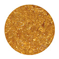 Edible Glitter Flakes Orange Gold 28g