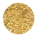 Edible Glitter Flakes Metallic Orange Gold 7g
