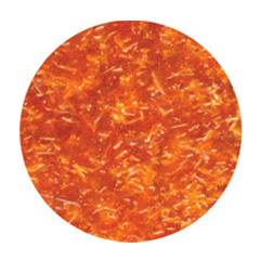 Edible Glitter Flakes Orange
