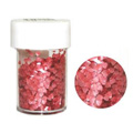 Edible Glitter Heart Red 4.5g