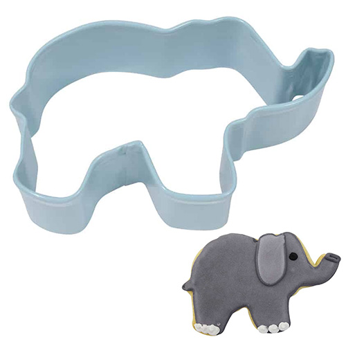 Elephant Blue Cookie Cutter