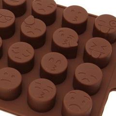 Emoji Silicone Chocolate Mould