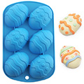 Fancy Easter Egg  Silicone Chocolate Mould