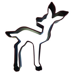 Fawn Baby Deer Brown Cookie Cutter
