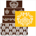 Filigree Damask Cake Stencil #1