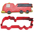 Fire Engine Truck Red Cookie Cutter