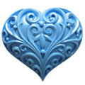 First Impressions Moulds Filigree Heart